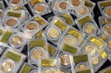 Backyard Gold Bonanza saddle ridge coin hoard treasure