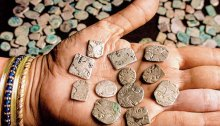 india coin hoard gold silver