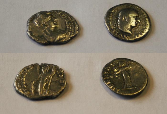 roman silver denarius coin