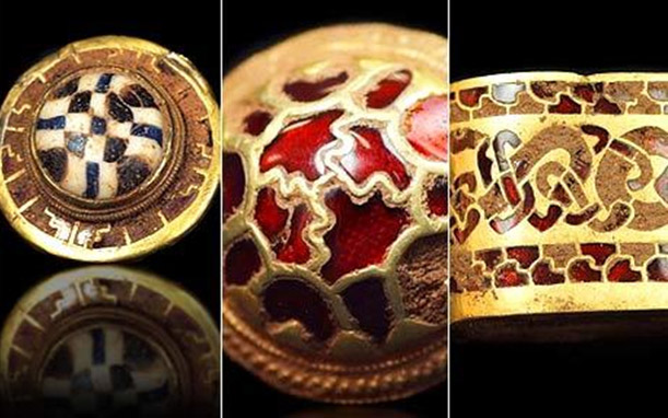 Staffordshire-Hoard-gold anglo saxon hoard metal detecting