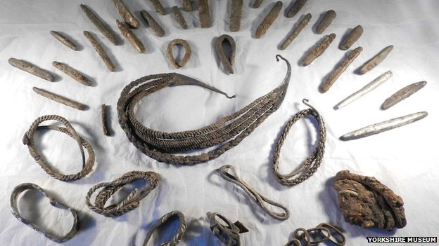 viking hoard metal detecting treasure