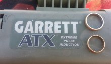 garrett atx metal detector gold