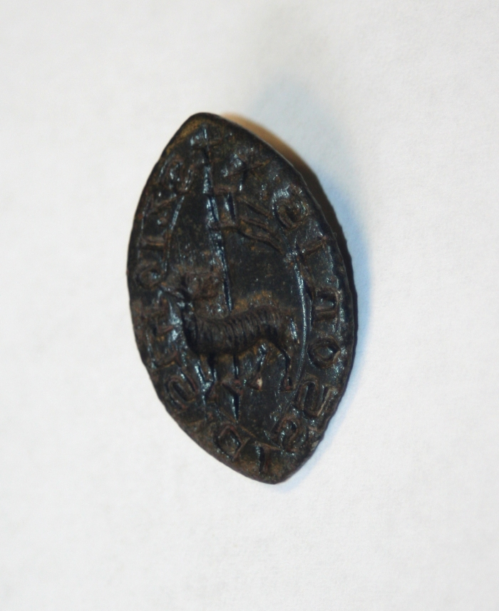 medieval seal lamb metal detecting