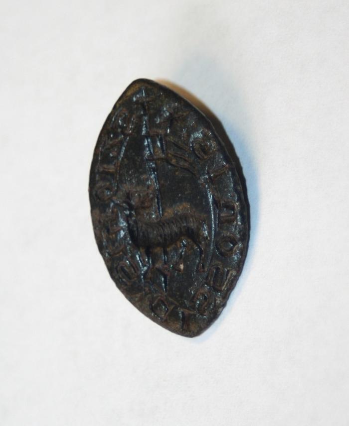medieval seal lamb metal detecting