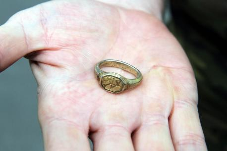 tudor ring hoard metal detecting