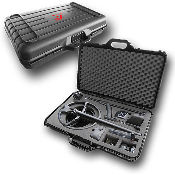 XP deus metal detector transport case