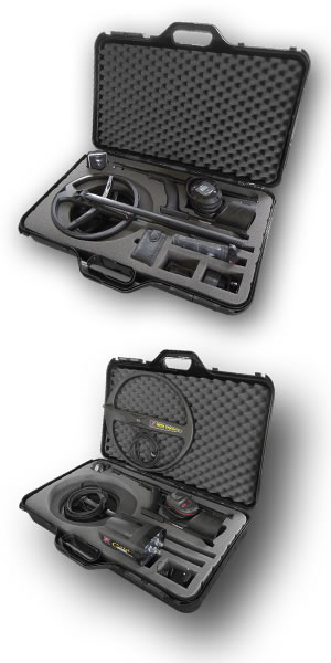 XP DEUS metal detector Transport carry case