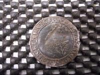 Elizabeth 1st silver shilling
