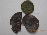 1.Elizabeth 1st silver shilling 1580 hammered coin