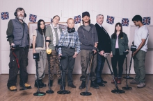 Detectorists with metal detectors BBC four 4