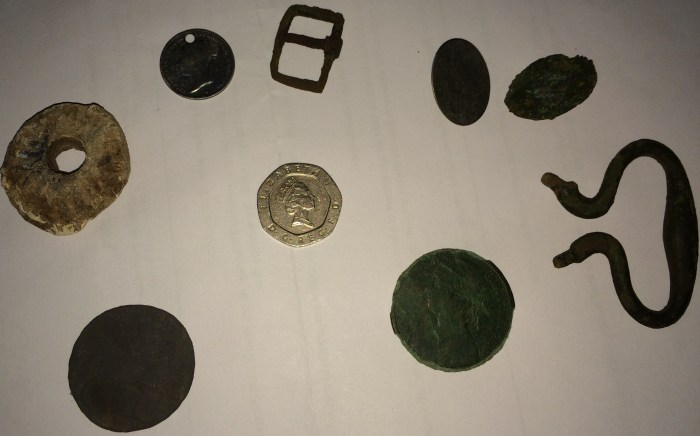 metal detecting finds rally