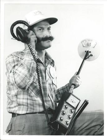 Derek Ingram metal detectorist