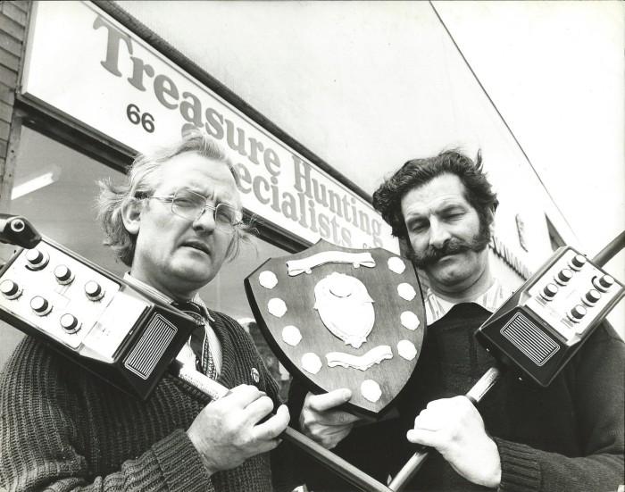 Derek Ingram Metal Detecting trophy