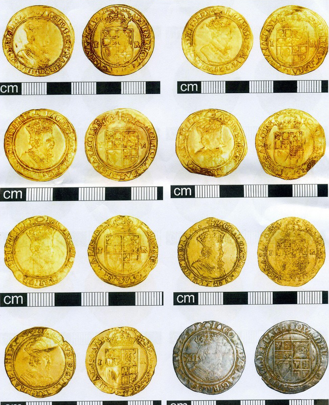 civil war gold silver coins hoard