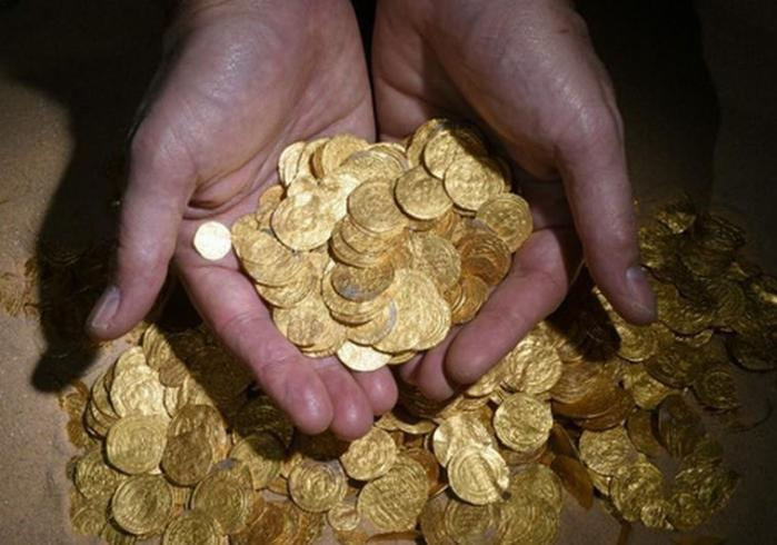 gold treasure hoard israel