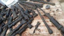 metal detectorist unearthed ira guns