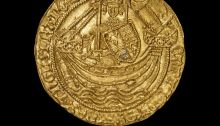 Medieval gold coin treasure trove