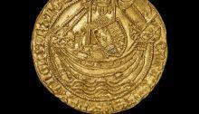 Medieval gold coin treasure trove