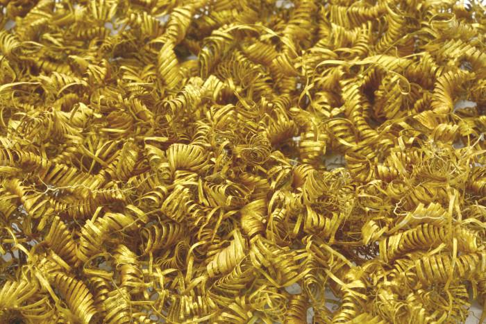 Denmark bronze age gold spirals