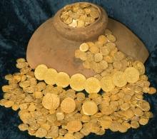 Olive Jar gold coins hoard
