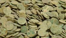 Silver-Treasure roman coins hoard