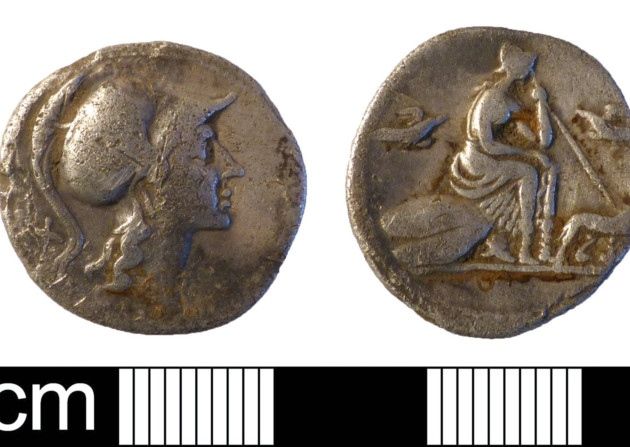 Roman coin hoard treasure
