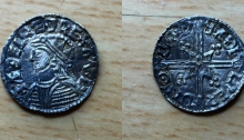 Aethelred II Voided Long Cross penny