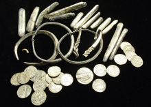 Viking hoard treasure