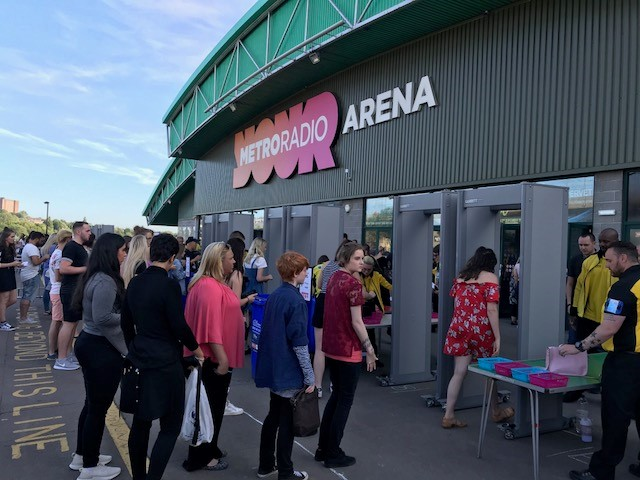 Metro Radio Arena-Garrett-Security
